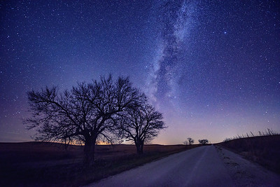 Flint Hills Milky Way
