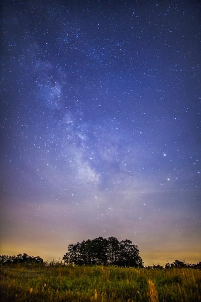 Belews Lake Milky Way