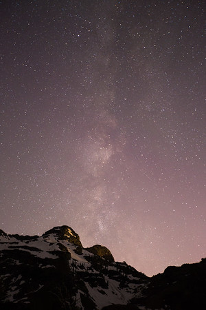 Wasatch Night Sky II
