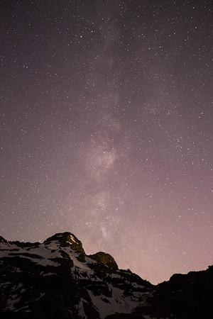 Wasatch Night Sky II