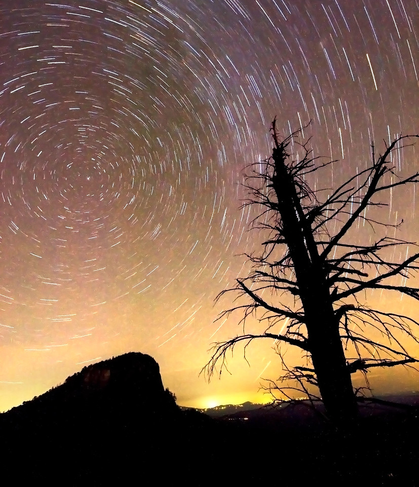 Table Rock Star Trails