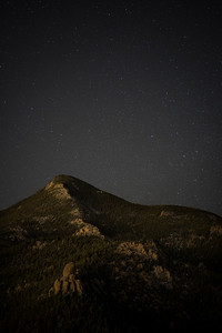 Millions of stars over Manitou Springs.  Cameron Cone.
