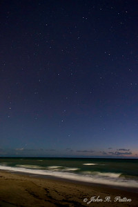 Stars over the Atlantic