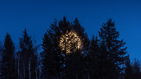 Supermoon of April