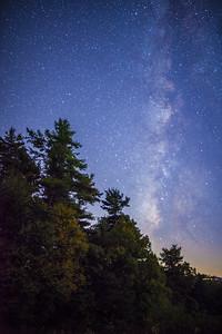 Blue Ridge Parkway Stars