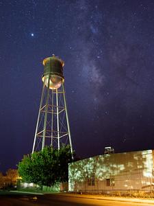 Downtown Marfa Milky Way