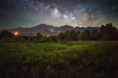 Franconia Notch Milky Way