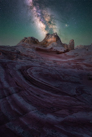 Some of the darkest skies in the US - White Pocket, Arizona