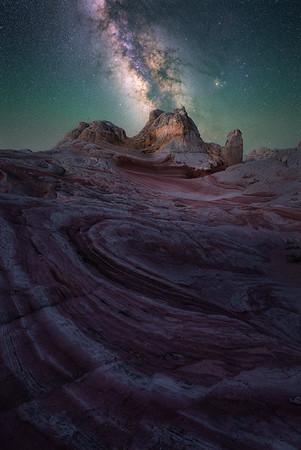Some of the darkest skies in the US - White Pocket, Arizona