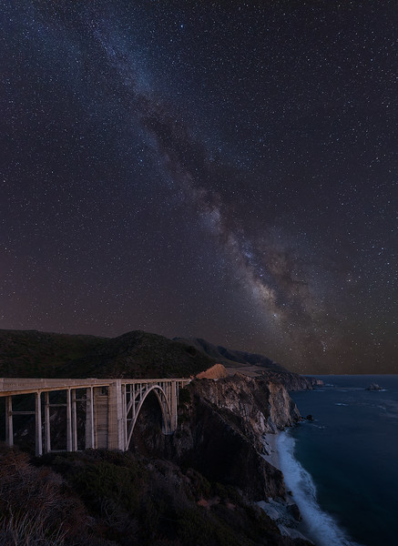 Bixby Bridge Milky Way