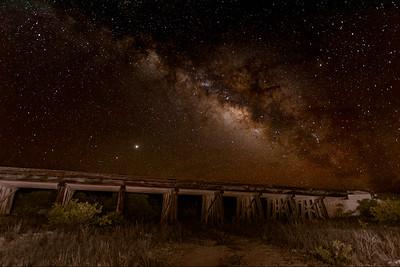 Rail Trestle near Sanderson, TX