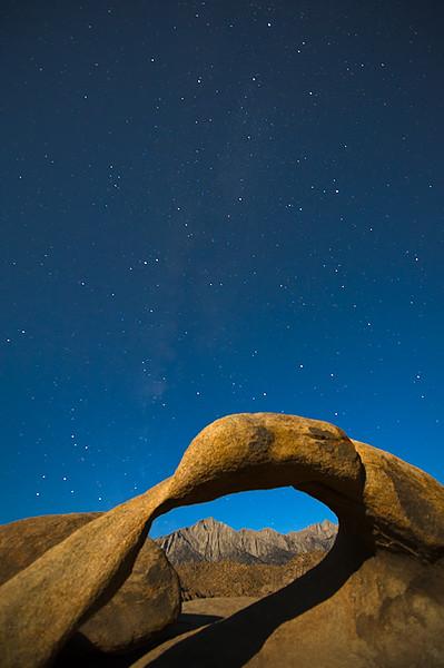 Mobius Arch Stars