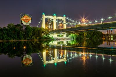 Grain Belt Beer at the Bridge
