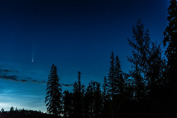 Dawn and a Comet
