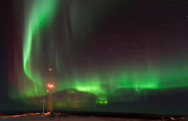 Northern Lights in the Last Frontier