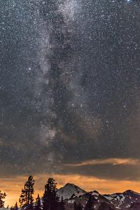 Milky Way, Mt Baker.