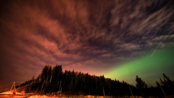 Aurora & Meteor