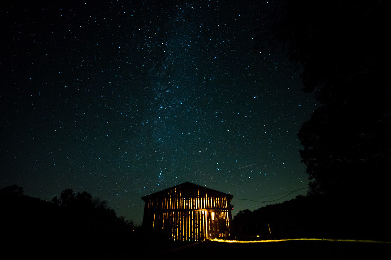 Stars over Schloss Hollow Barn