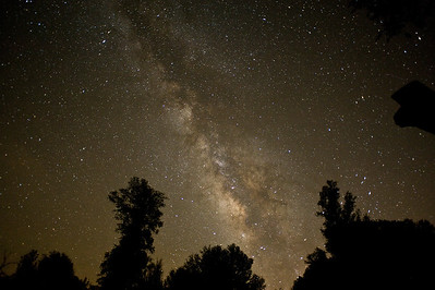 The milky way.  Julian, California.