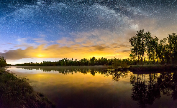 Milky Way at Dawn