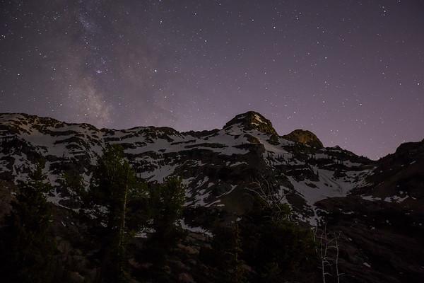Dromedary Peak at Night
