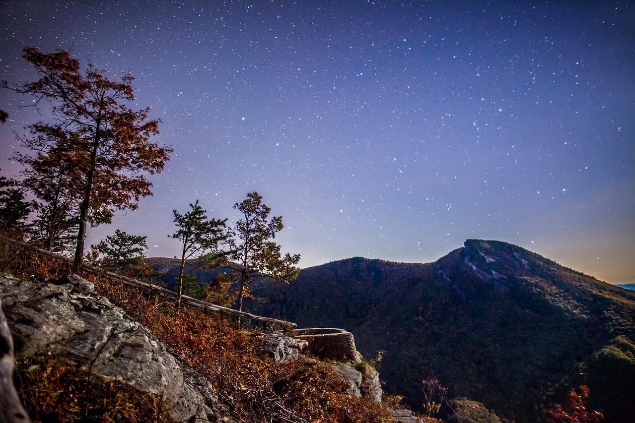 Wiseman's View at Night