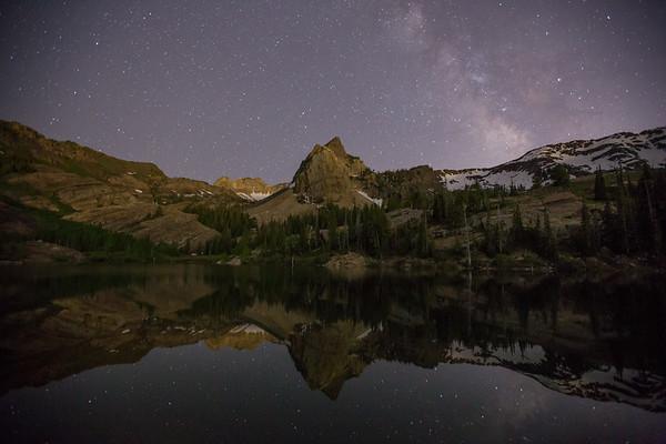 Milky Way Over Sundial Peak III