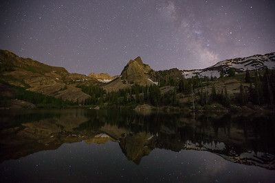 Milky Way Over Sundial Peak III