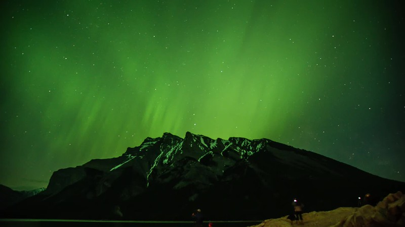 Northern Lights Over Mt. Inglismaldie