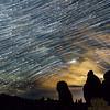 Star Trails Over Utah