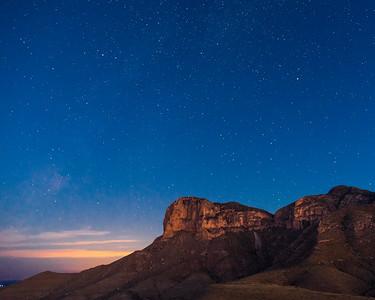 El Capitan before Sunrise