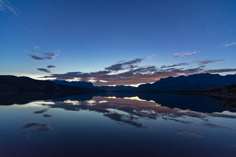 Jasper Lake at Night