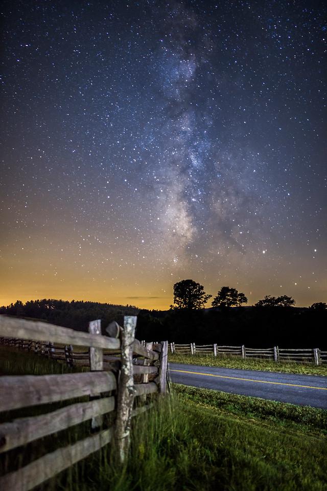 Blue Ridge Parkway Fences