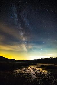 Beaver Pond Milky Way