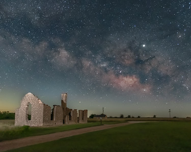 Fort Griffin Milky Way