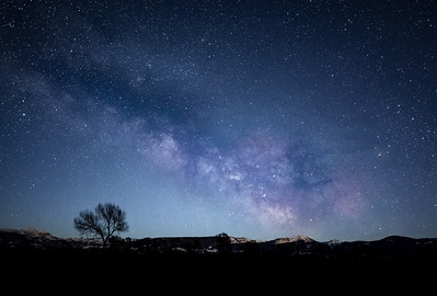 Milky Way over Teton Pass
