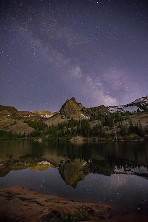 Milky Way Over Sundial Peak