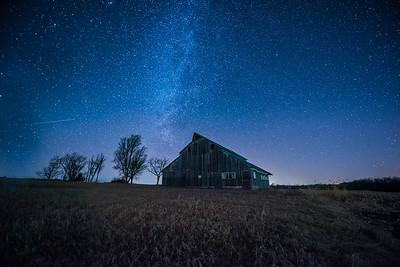 Kansas Barn Gazing - Side