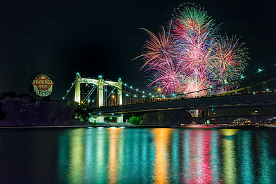 4th of July at the Bridge
