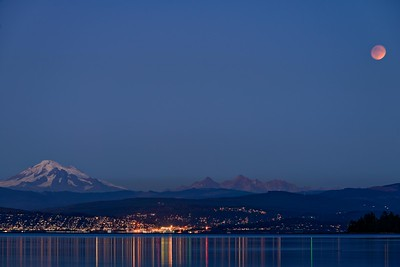 Lunar Eclipse, from the Lummi Reservation.