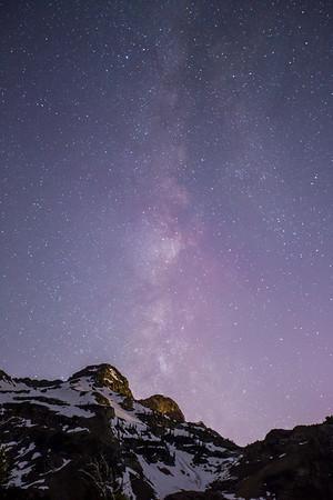 Wasatch Night Sky