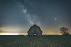 Boone County Barn under the Stars
