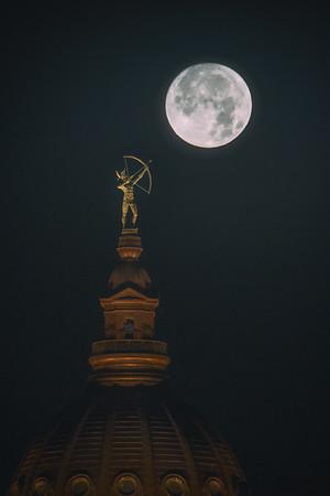 Ad Astra Shoots Moon