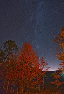 Milky Way in Autumn