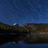 Star Trails in the Rockies