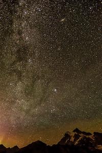 Galaxies, Mt Baker.