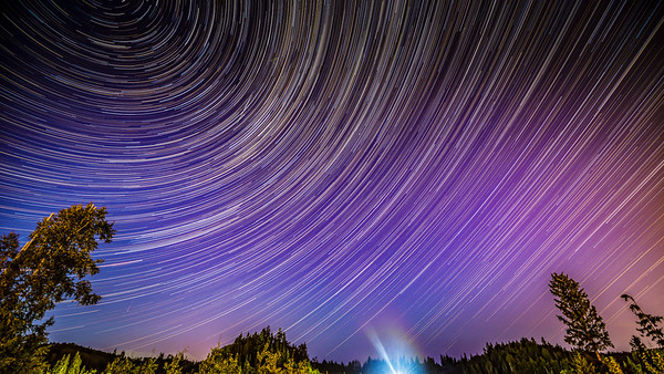 Perseid Star Trails