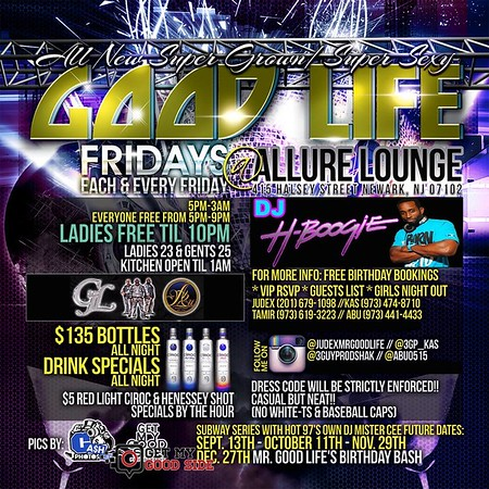Events coming up at Allure Lounge