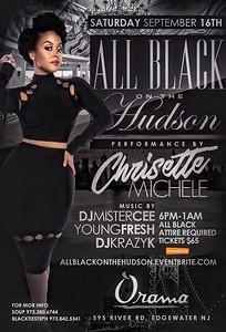 All Black On The Hudson