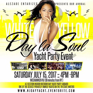THE ONLY WHITE & YELLOW DAY YACHT PARTY